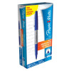 Paper Mate Flair Felt Tip Pen Ultra Fine 0.5mm Tip Blue Ref S0901330 [Pack 12]