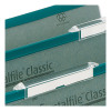 Rexel Crystalfile Classic Tabs Plastic Extra-deep for Suspension File Clear Ref 78289 [Pack 50]