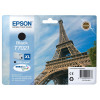 Epson T7021 Inkjet Cartridge Eiffel Tower XL Page Life 2400pp 45.2ml Black Ref C13T70214010