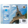 Epson T7022 Inkjet Cartridge Eiffel Tower XL Page Life 2000pp 21.3ml Cyan Ref C13T70224010