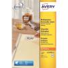 Avery Mini Multipurpose Labels Removable Laser 48 per Sheet 45.7x21.2mm Wht Ref L4736REV-25 [1200 Labels]