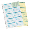 Durable Visitors Book Refill of 300 W90xH60mm 80gsm Badge Inserts Ref 1466/00