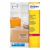 Avery Parcel Labels Laser 1 per Sheet 210x297mm Clear Ref L7567-25 [25 Labels]