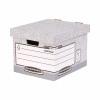 5 Star Office Storage Box Red & White FSC [Pack 10]