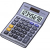 Casio Semi-desk Calculator 8 Digit 3 Key Memory Battery/Solar Power 103x31x145mm Silver Ref MS-80VER II