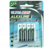 5 Star Value Alkaline Batteries AAA [Pack 4]