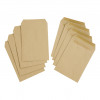 5 Star Value Envelope C5 Pocket Self Seal 80gsm Plain Manilla [Pack 500]