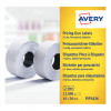 Avery 2-Line Label Permanent White 16mm x 26mm WP1626
