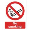 Stewart Superior No Smoking logo only 150x150mm Self-adhesive Vinyl Ref NS020SAV