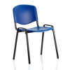 &Trexus Stacking Chair Blue Poly 460x390x430mm Ref 746183