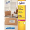 Avery Parcel Labels Laser Recycled 2 per Sheet 199.6x143.5mm White Ref LR7168-100 [200 Labels]