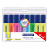 Staedtler Medium Black Stick Ballpoint Pen (Pack of 10) 430-M9