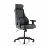 Trexus Hampshire Leather Manager Chair 520x510x500-600mm Ref 10472-02