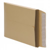 5 Star Office Envelopes C4 Gusset 25mm Peel and Seal 115gsm Manilla [Pack 125]
