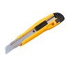 5 Star Office Cutting Knife Medium Duty with Locking Device and Snap-off Blades 18mm