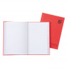 5 Star Office Manuscript Notebook Casebound 70gsm Ruled and Indexed 192pp A5 Red [Pack 5]