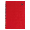 Initiative Hardback Twinwire Bound Notebook A4 Feint Ruled Perforated 70gsm 160 Pages