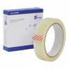 5 Star Elite Easy Tear Tape PP 3in Core 24mm x 66m Clear [Pack 6]