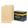 New Guardian Envelopes Heavyweight 381x254mm Pocket Peel and Seal 130gsm Manilla Ref E23513 [Pack 125]