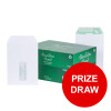 Basildon Bond Envelopes FSC Recycled Pocket P&S Window 120gsm C5 White Ref J80119 [Pack 500] [PRIZE DRAW]