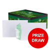 Basildon Bond Envelopes FSC Recycled Pocket Peel & Seal 120gm C5 White Ref L80118 [Pack 500] [PRIZE DRAW]