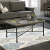 Teknik Office Canal Heights Coffee Table Northern Oak Finish