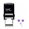 Trodat Teachers Stamp - Two stars and a wish - Violet