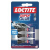 Loctite Mini Trio Super Glue Packed 3 Ref 1623820