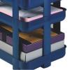 Rexel Agenda2 Risers 45x6x70mm Blue Pack 5 Ref 2101020