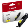 Canon Inkjet Cartridge Yellow CLI-551Y 6511B001AA Each