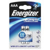 Energizer Ultimate Lithium Battery LR03 1.5V AAA Pack 2 Ref L92 S3130 PK2