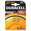 Duracell Silver Oxide Batteries D357/10L14 Pack 2 S4806 Ref 15031685