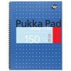 Pukka Metallic Easy-Riter Notebook Wirebound Ref ERM009 Each