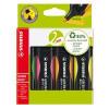 Stabilo Green Boss® Highlighter Pen Assorted (Pack of 4) 6070/4