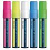 Schneider Maxx 260 Liquid Chalk Marker Chisel Tip 2-15mm Assorted (Pack of 5) 1260AS
