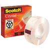 Scotch Crystal Clear Tape 19mm x 33m 600