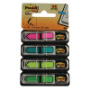 3M Post-It Index Strong Filing Tabs Assorted Pack 24