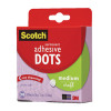 Scotch Permanent Adhesive Dots Medium Clear (Pack of 300) 010-300M