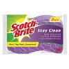 Scotch-Brite® Stay Clean Non-Scratch Scrub Sponge (Pack of 2) 20202-12