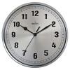 Acctim Ruben Wall Clock Chrome 27357
