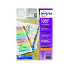 Avery Readyindex Mylar 1-10 Punched 01735501