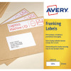 Avery Franking Label 194 x 39mm White FL06