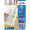 Avery Punched Index Maker White 12-Part A4 01640061