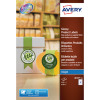 Avery Round Glossy Product Label White J8105-10