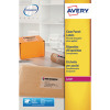 Avery Clear Laser Label A4 1 per Sheet (Pack of 25) L7567-25
