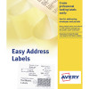 Avery White Dot Matrix Computer Labels 89x37mm (Pack of 500) EAL01