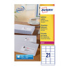 Avery Quickpeel L7160-100 Laser Address Labels (Pack of 2100)