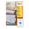 Avery Quickpeel Laser Address Labels 99.1 x 34mm Pack of 1600 L7162-100