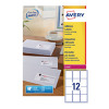 Avery White Quickpeel Address Labels 63x72mm (Pack of 3000) L7164-250