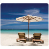 Fellowes Earth Series Recycled Mouse Pad Beach Chairs 5909501